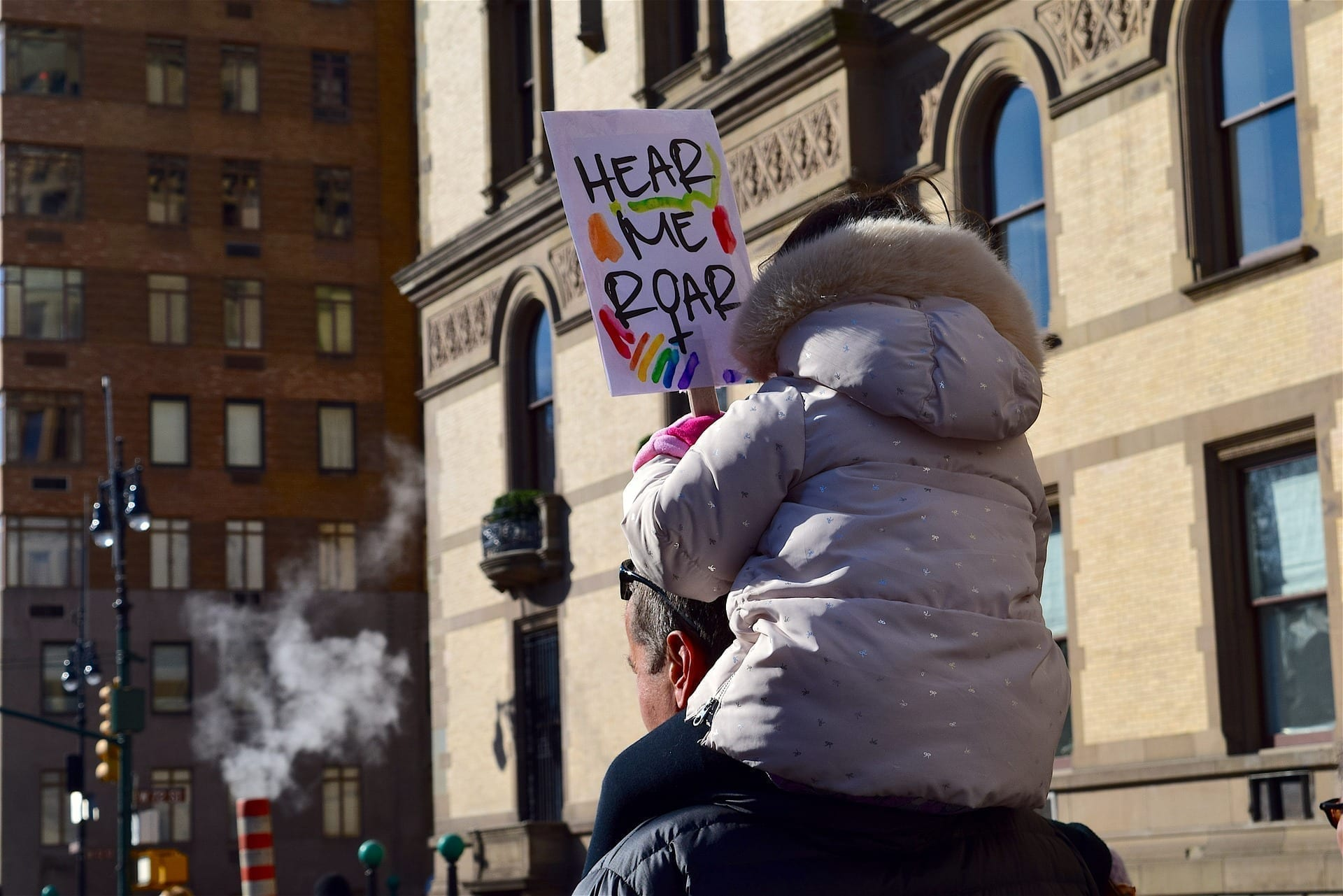 Child Protesting