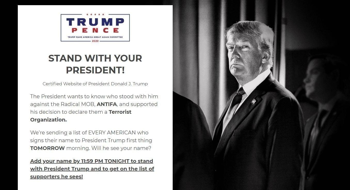 President Trump against ANTIFA - THIS MUST END Donald Trump